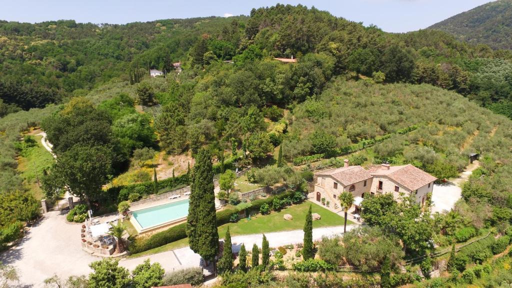 Vista aerea di Agriturismo La Marginella