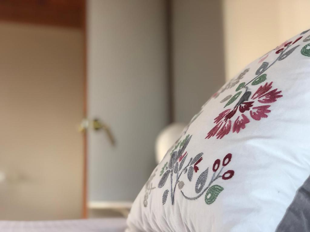 Cama o camas de una habitación en Santuario De Bellmunt