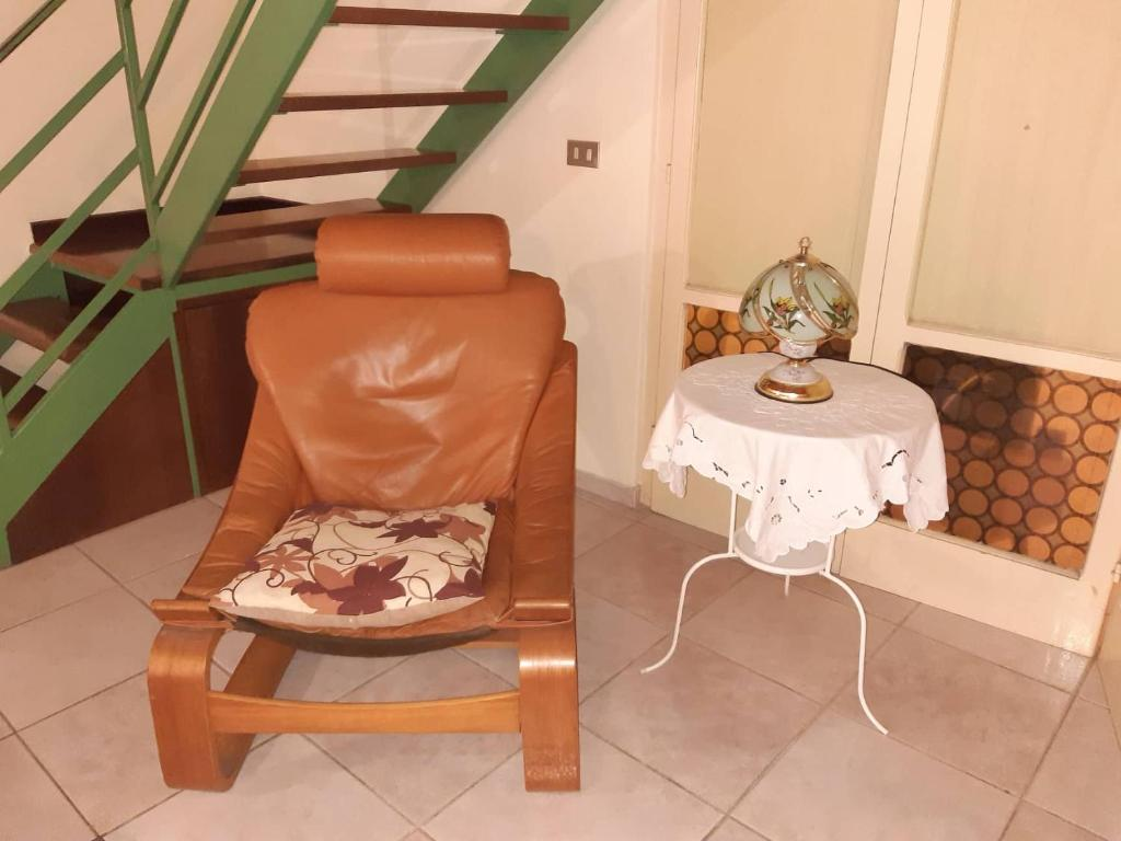 A seating area at B&B Il Nespolo