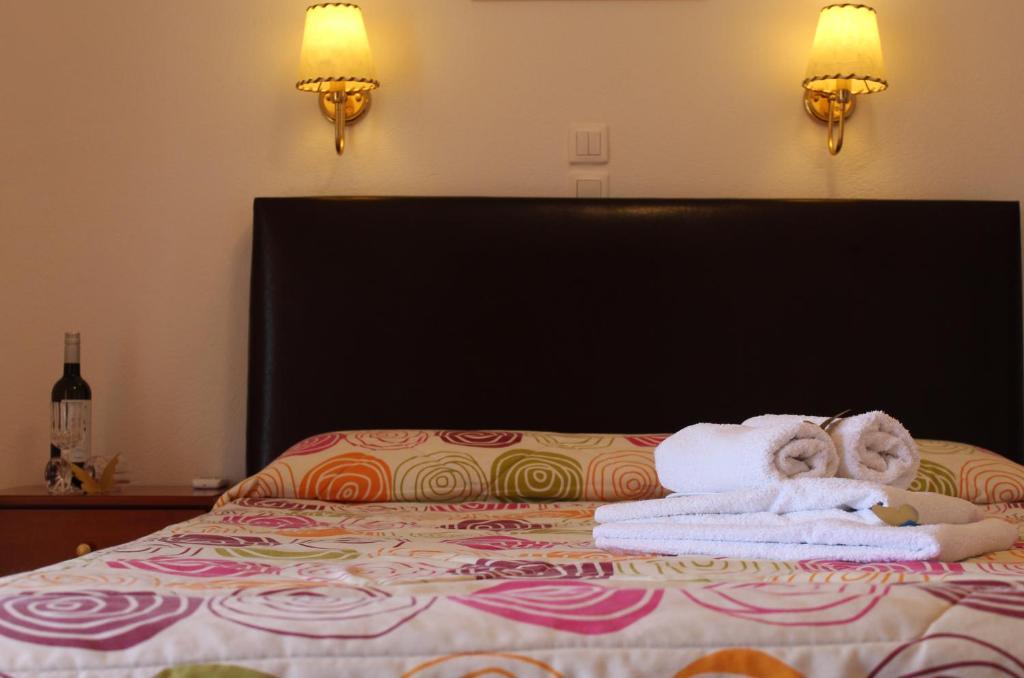Ένα ή περισσότερα κρεβάτια σε δωμάτιο στο La Luna Studios