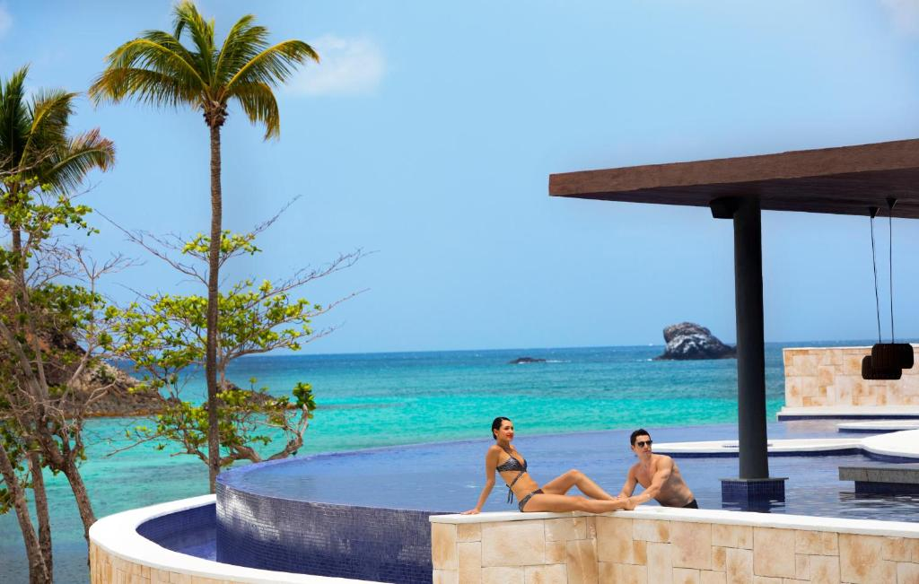 The swimming pool at or close to Hideaway at Royalton Saint Lucia Adults Only - All Inclusive