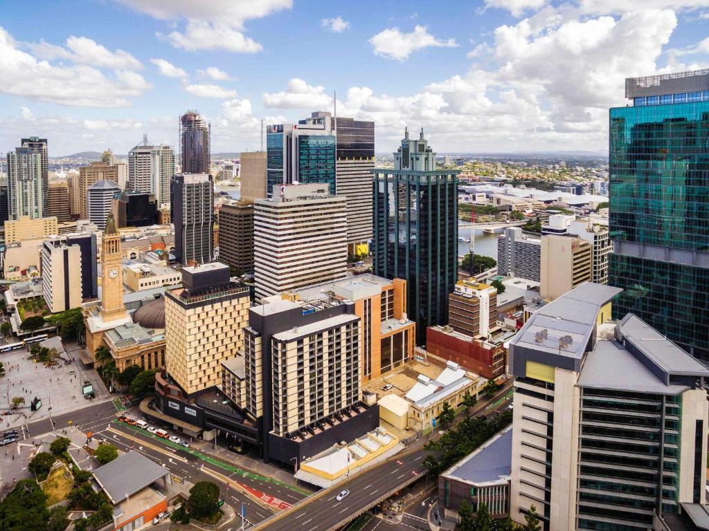 A bird's-eye view of Pullman Brisbane King George Square
