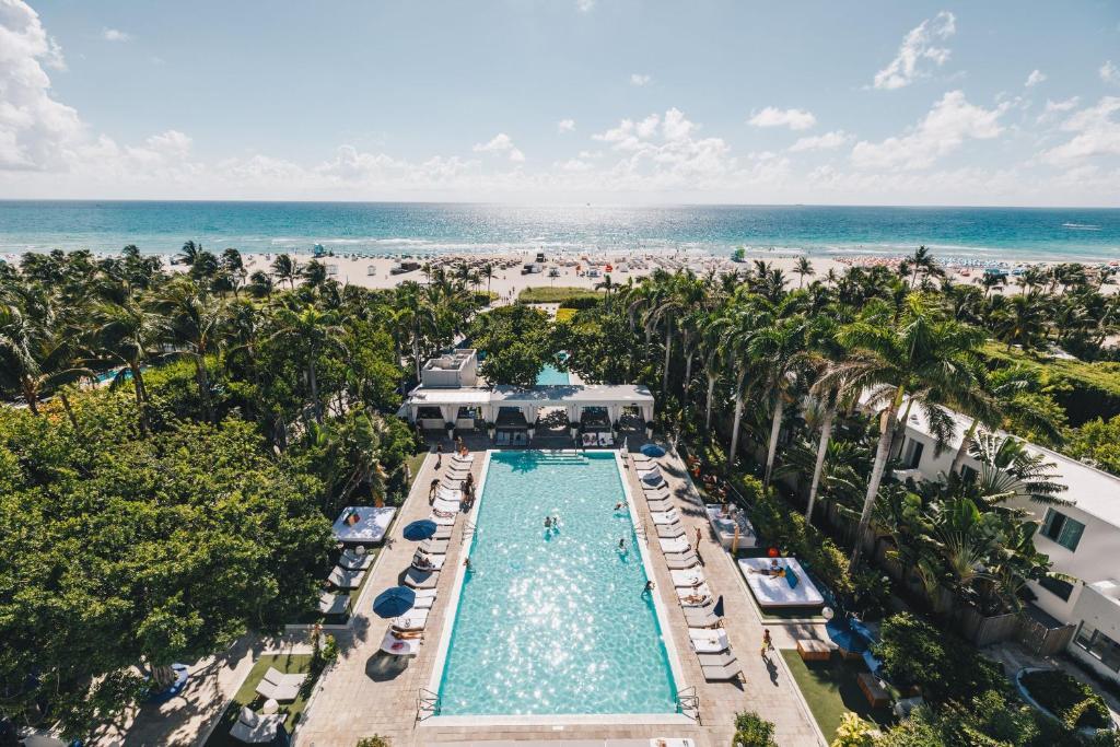 A bird's-eye view of Shore Club South Beach