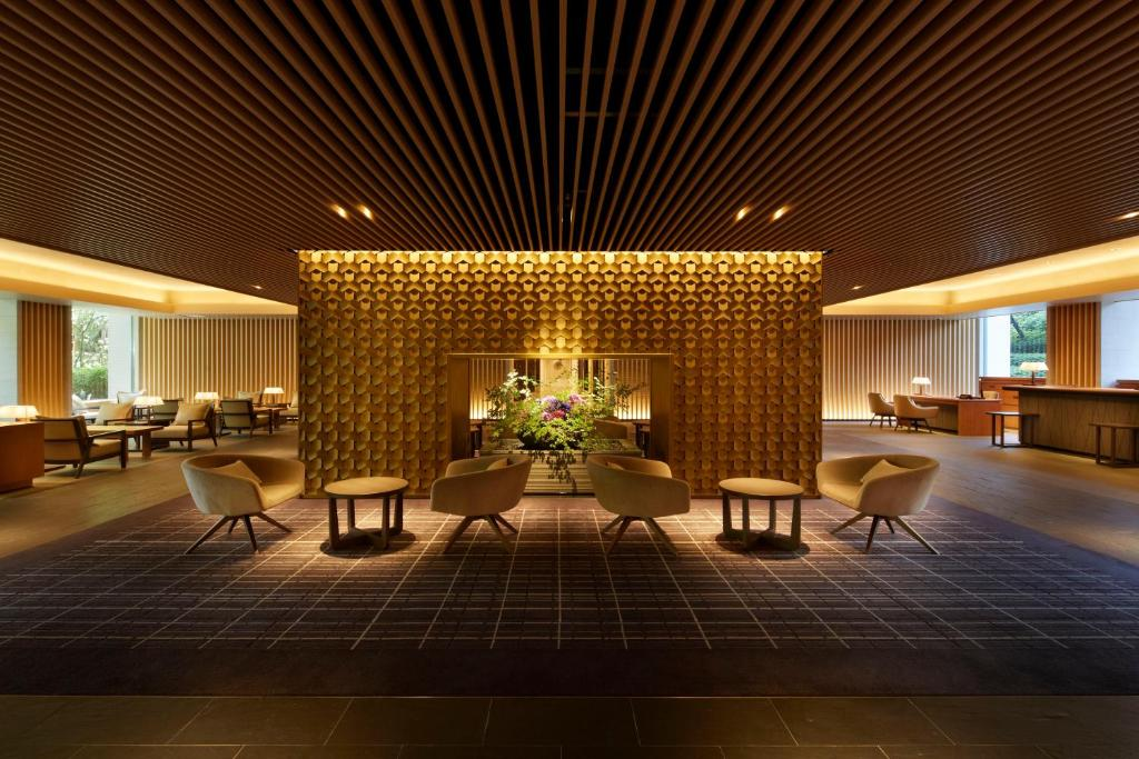 The lobby or reception area at The Prince Sakura Tower Tokyo, Autograph Collection