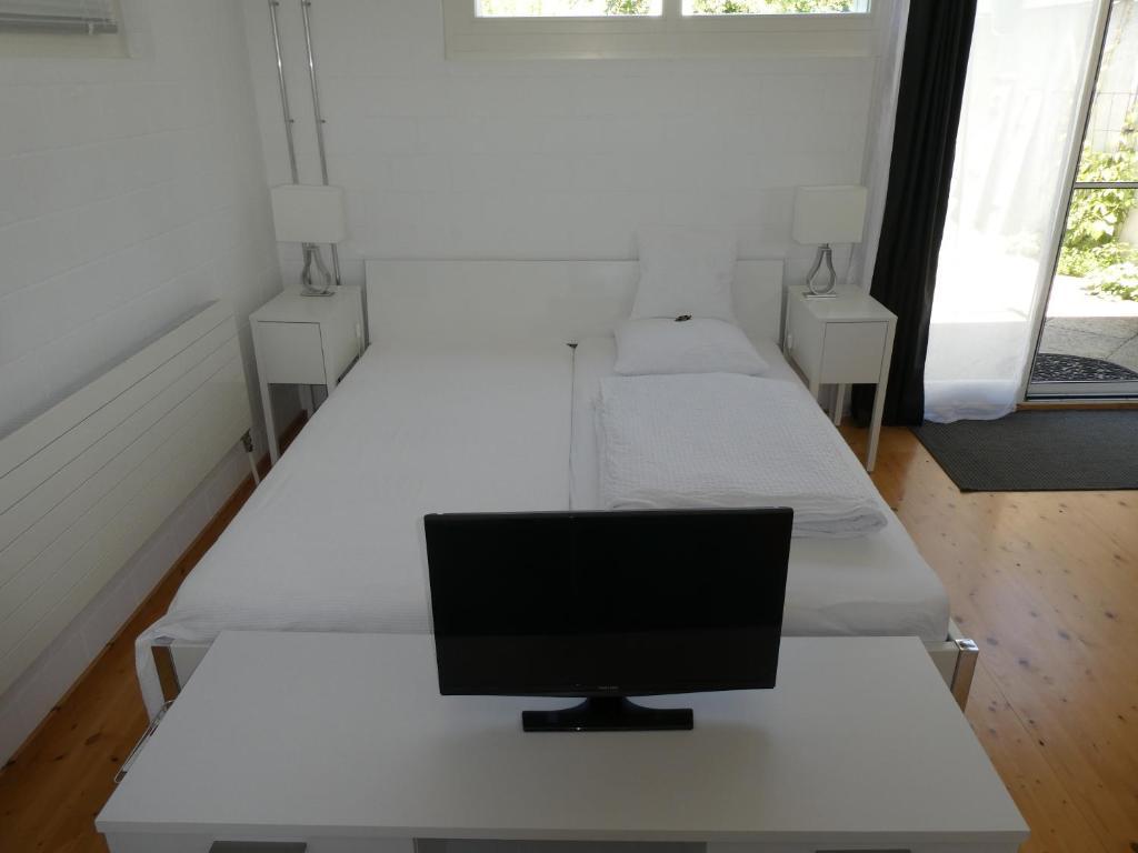 Ein Bett oder Betten in einem Zimmer der Unterkunft B&B Elegant