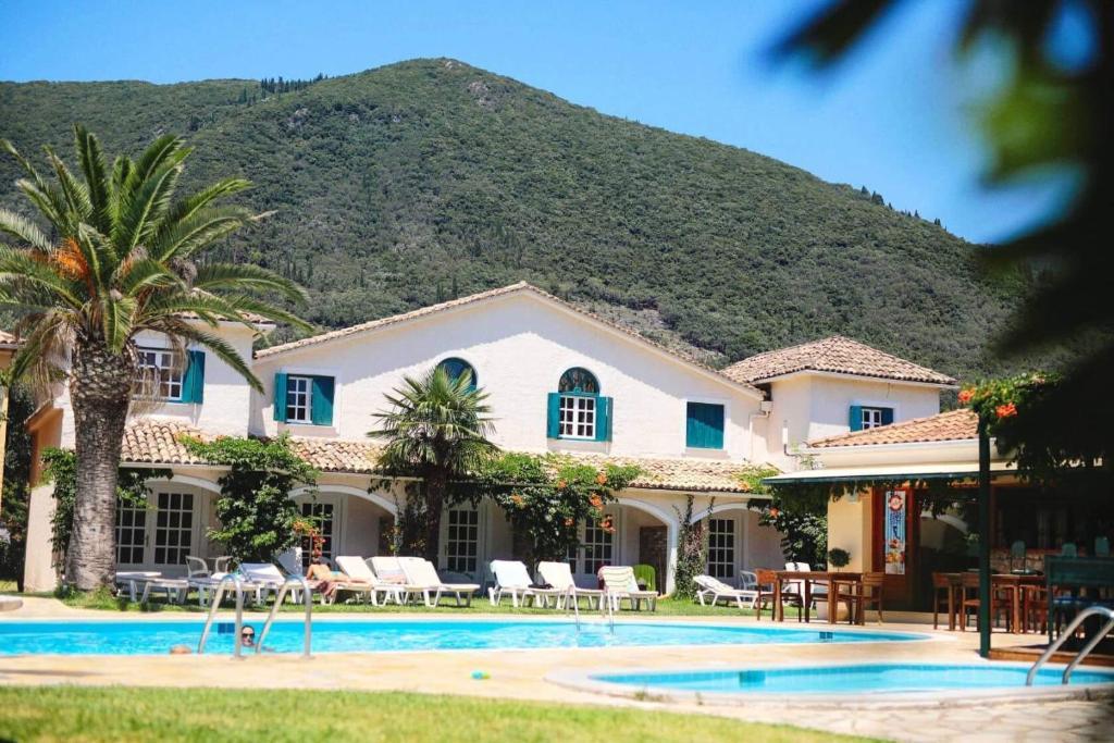 The swimming pool at or near Valentino Corfu