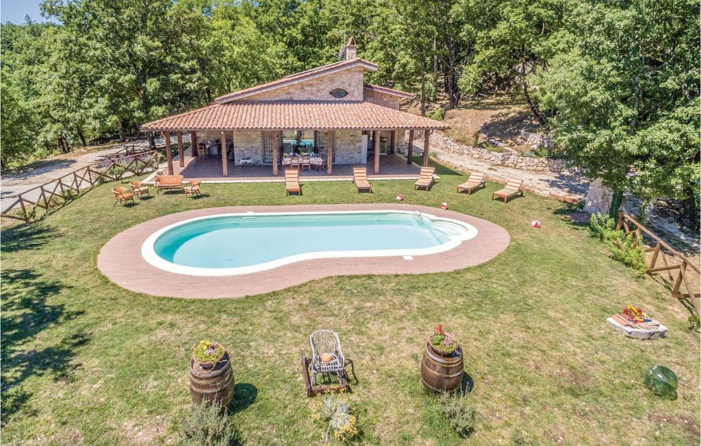 A view of the pool at Holiday Home Domus Incantada or nearby