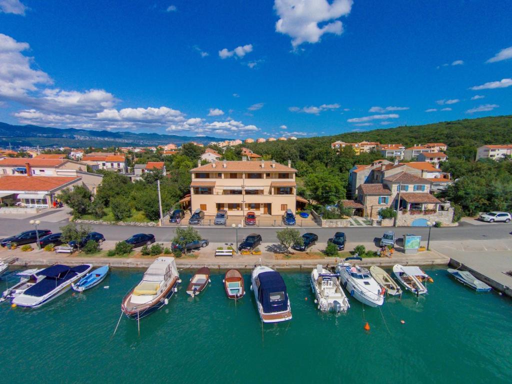 A bird's-eye view of Apartments Insula Aurea