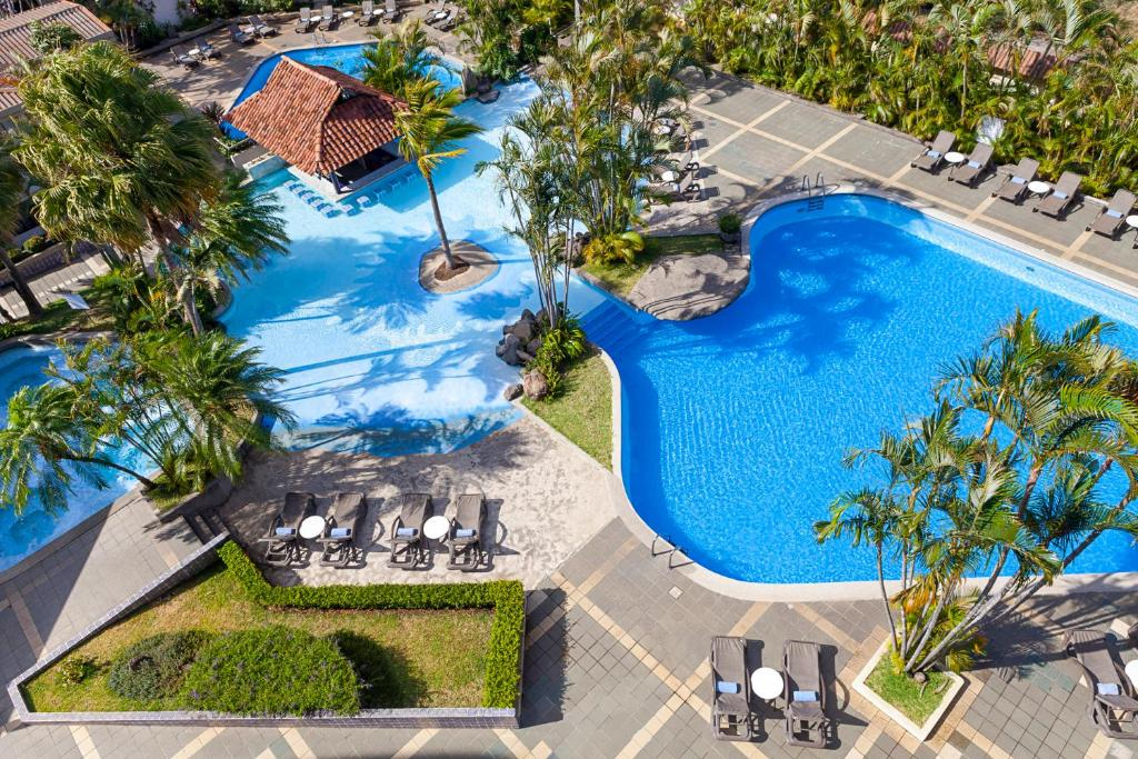 A view of the pool at Wyndham San Jose Herradura or nearby