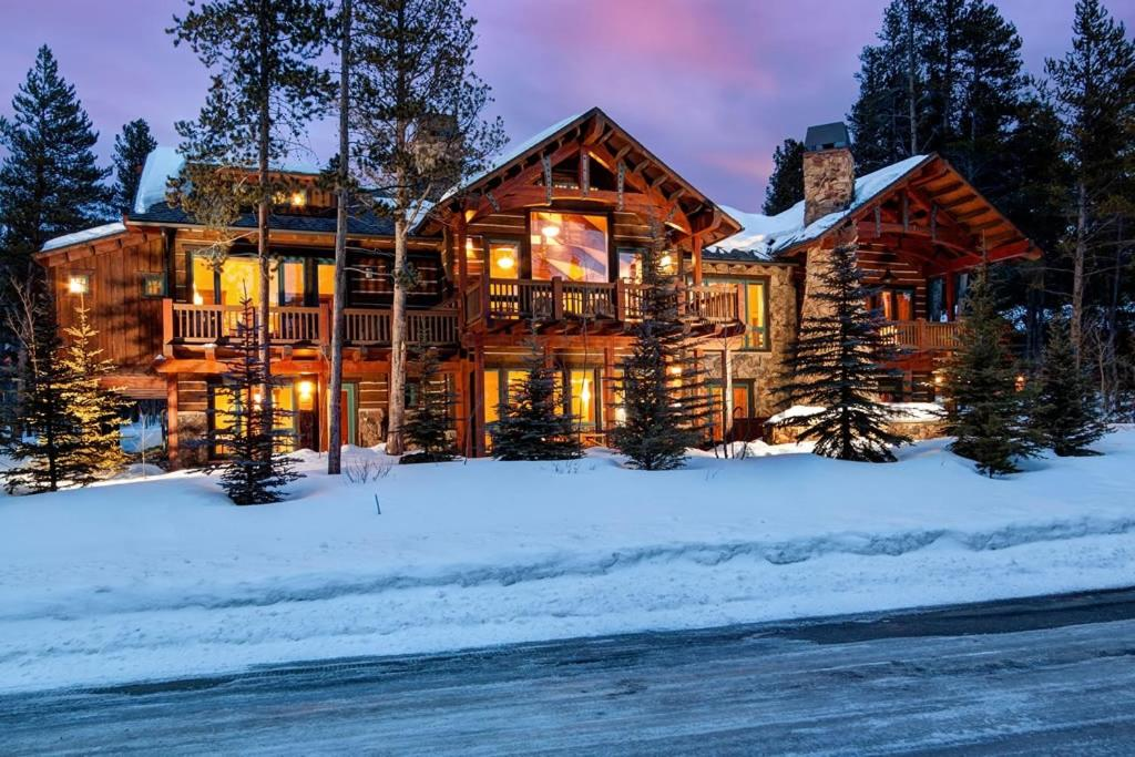 Morning Star Lodge during the winter