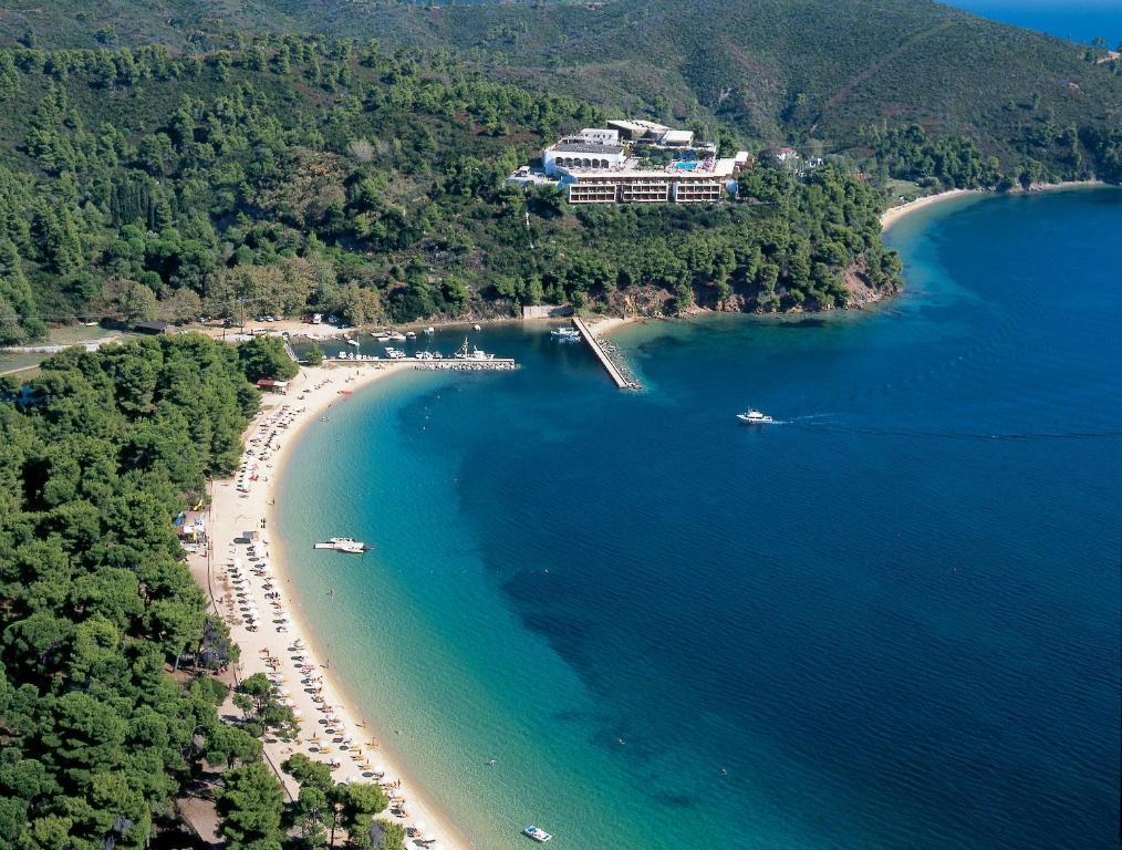 Άποψη από ψηλά του Skiathos Palace Hotel