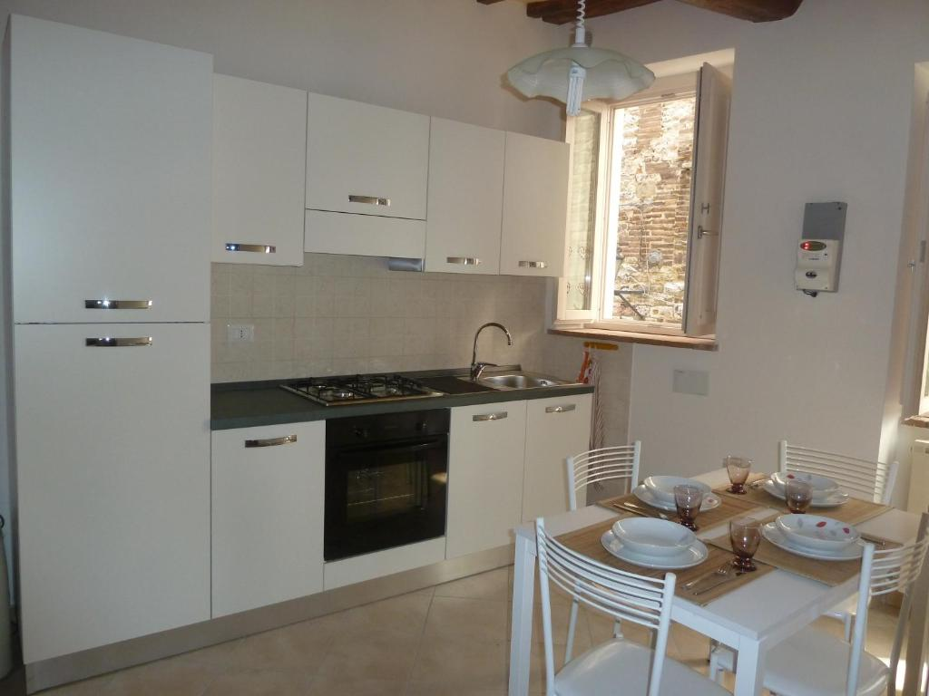 Cucina o angolo cottura di Appartamenti Deliziosa