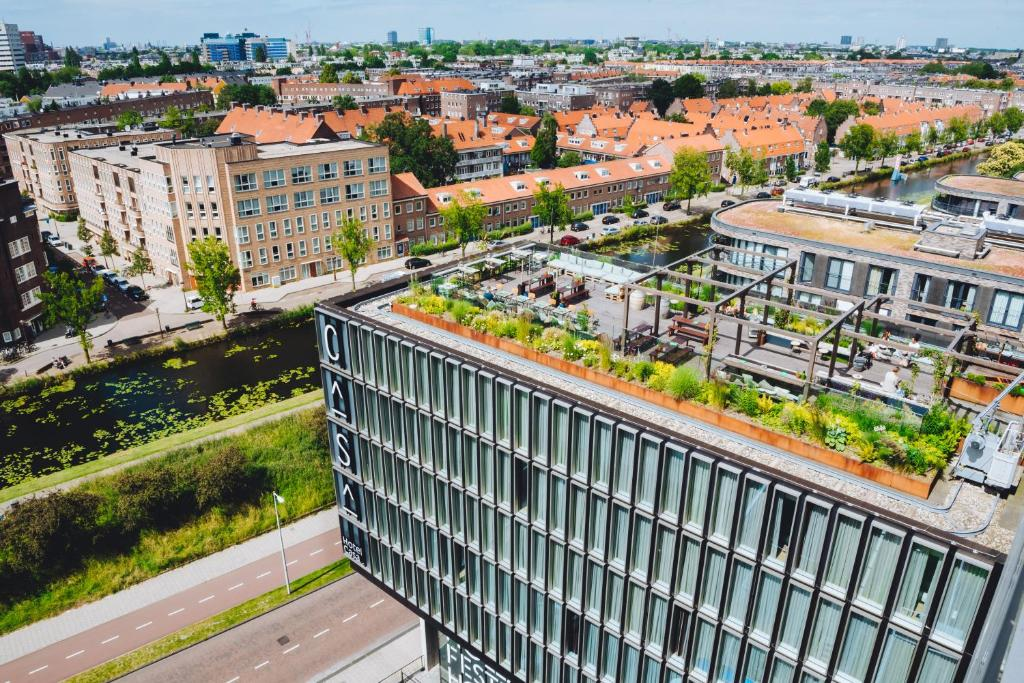 Hotel Casa Amsterdam tesisinin kuş bakışı görünümü