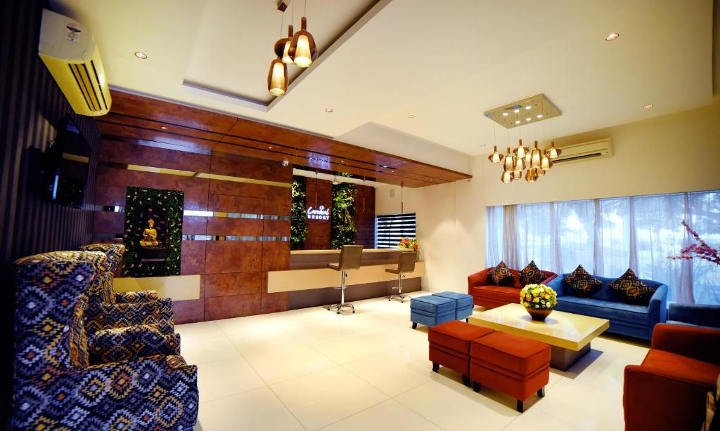 The lobby or reception area at Carnival Resort