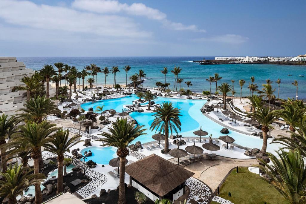 A view of the pool at Meliá Salinas - Adults Recommended or nearby