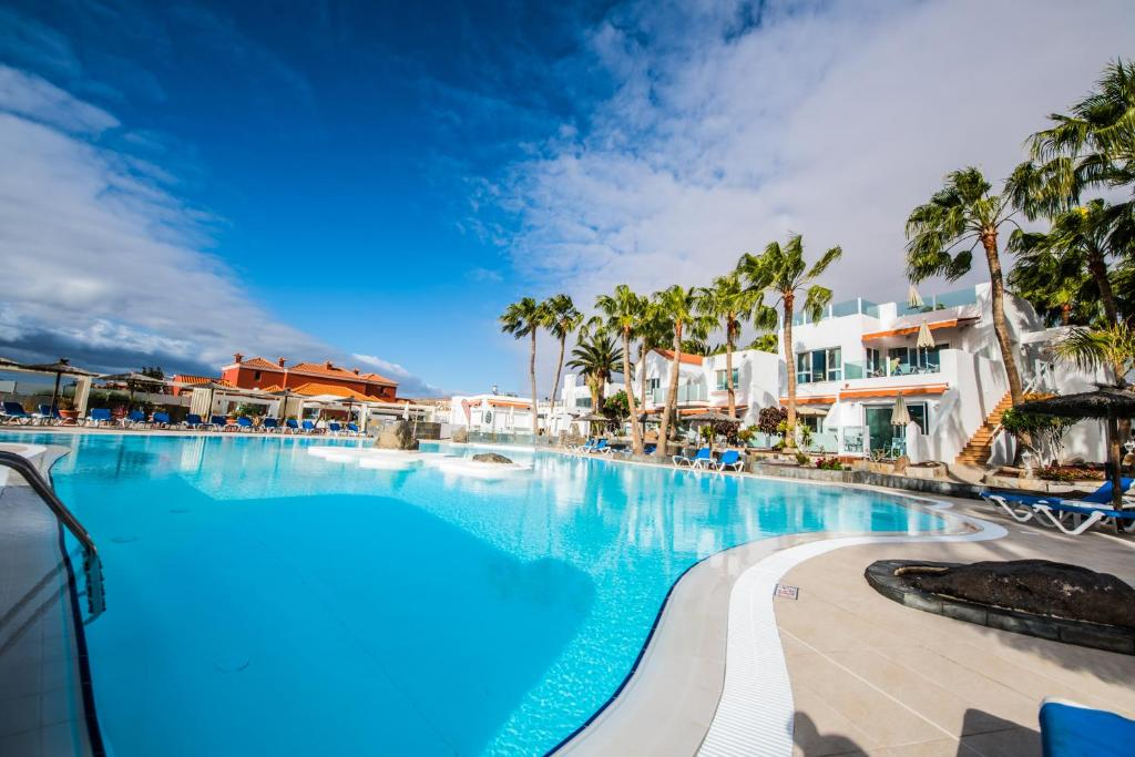 The swimming pool at or near Bahia Calma Beach