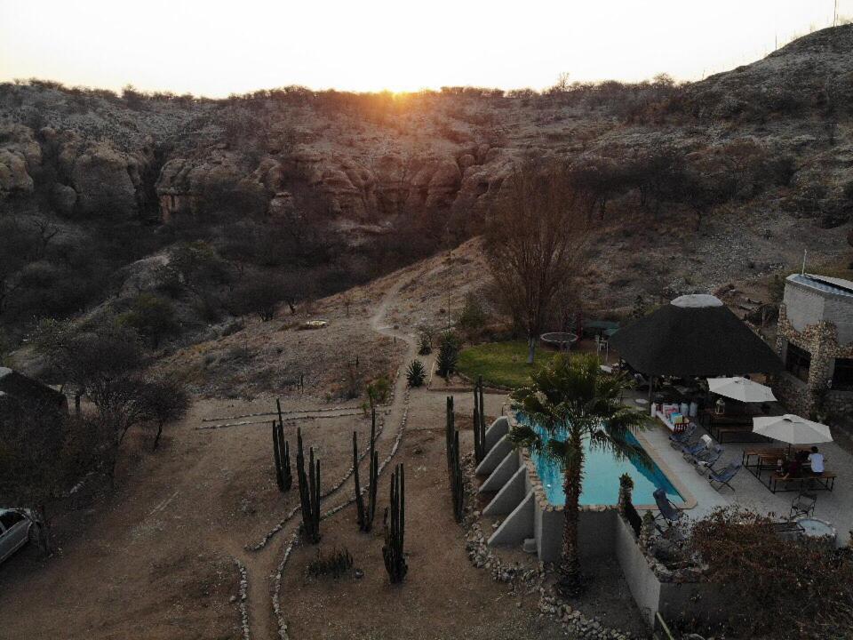 A view of the pool at Sasa Safari Camp or nearby