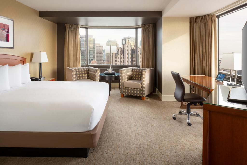 A room at the Hilton Parc 55 San Francisco Union Square.
