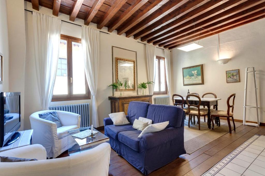 Zona de estar de Casa Florence