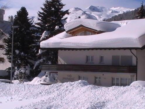Casa Pramalinis - Manstein during the winter