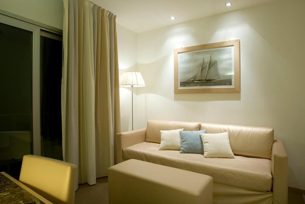 Posezení v ubytování Hotel Delle Nazioni