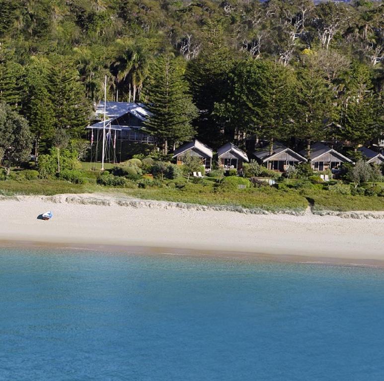 A bird's-eye view of Kims Beachside Retreat
