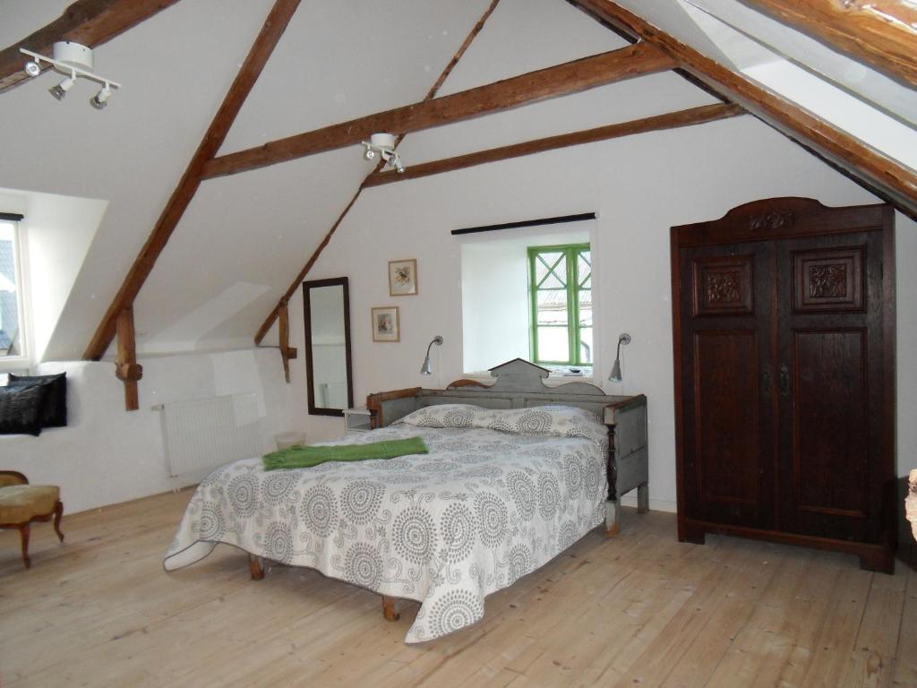 Säng eller sängar i ett rum på Mellby Ör Inn