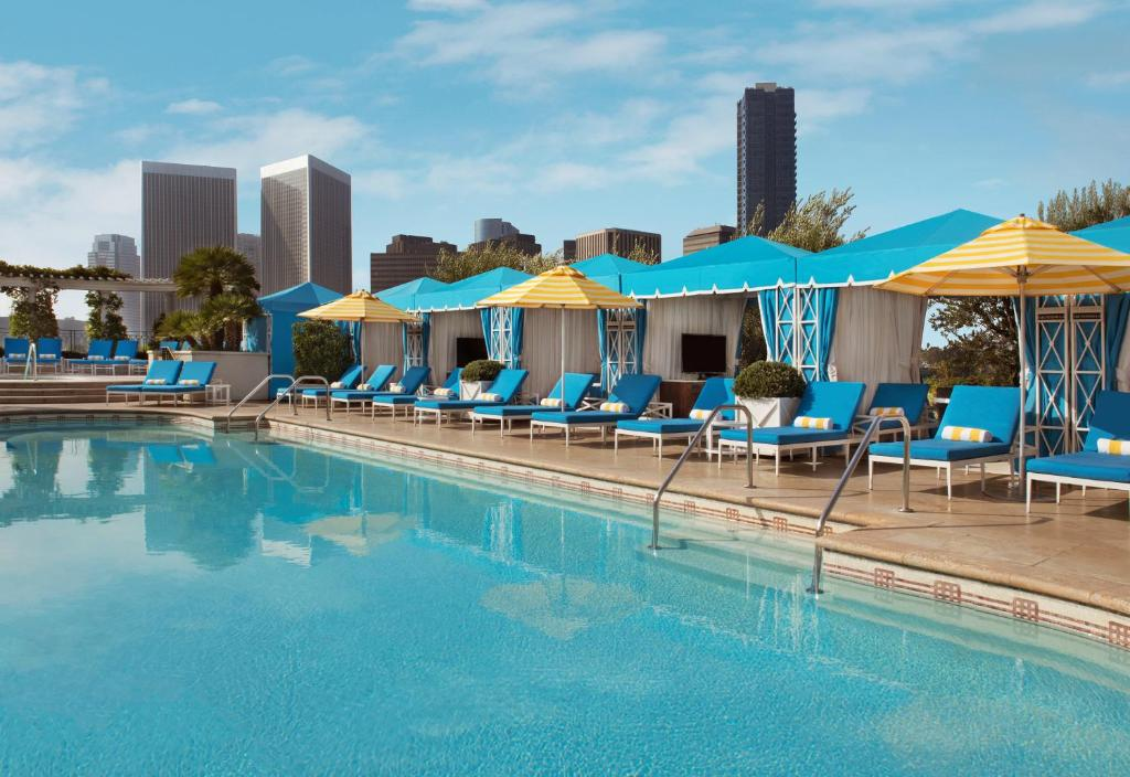 The swimming pool at or near The Peninsula Beverly Hills