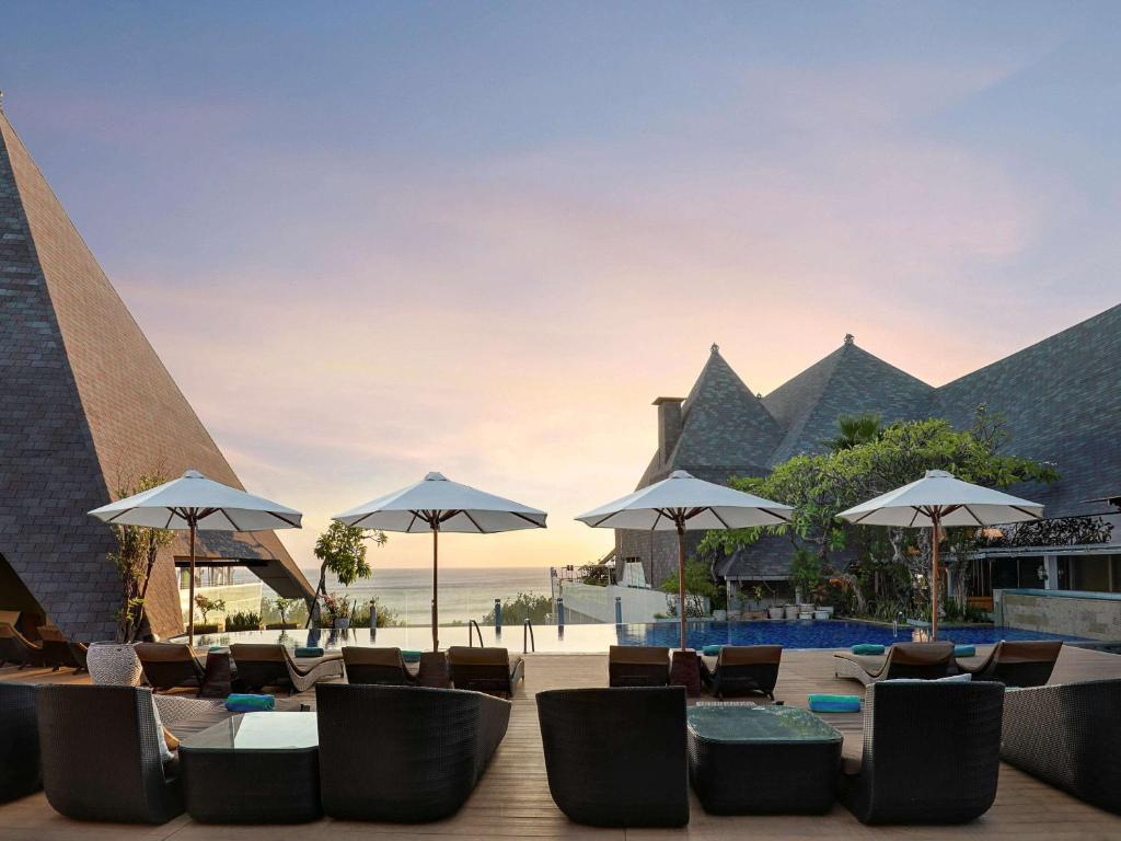 The swimming pool at or close to The Kuta Beach Heritage Hotel - Managed by Accor