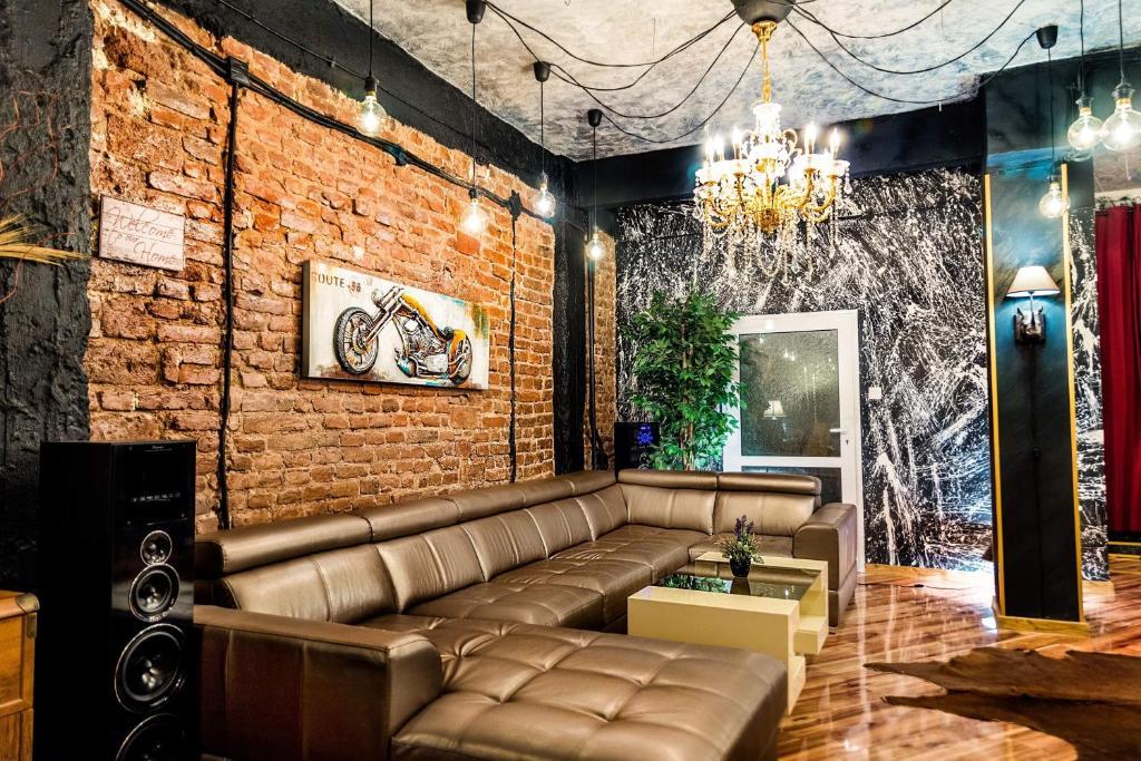 A seating area at Sofia Lux Loft