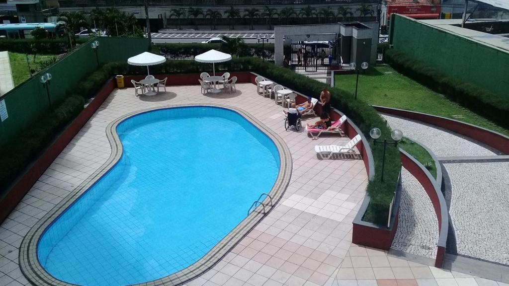 A view of the pool at Porto De Iracema Temporada or nearby