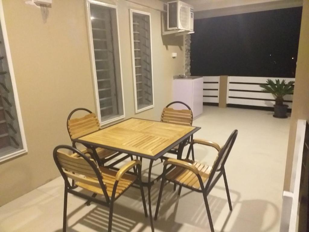 A balcony or terrace at Bidesi Apartments C