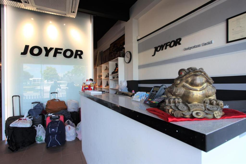 The lobby or reception area at Joyfor Backpackers' Hostel (SG Clean)