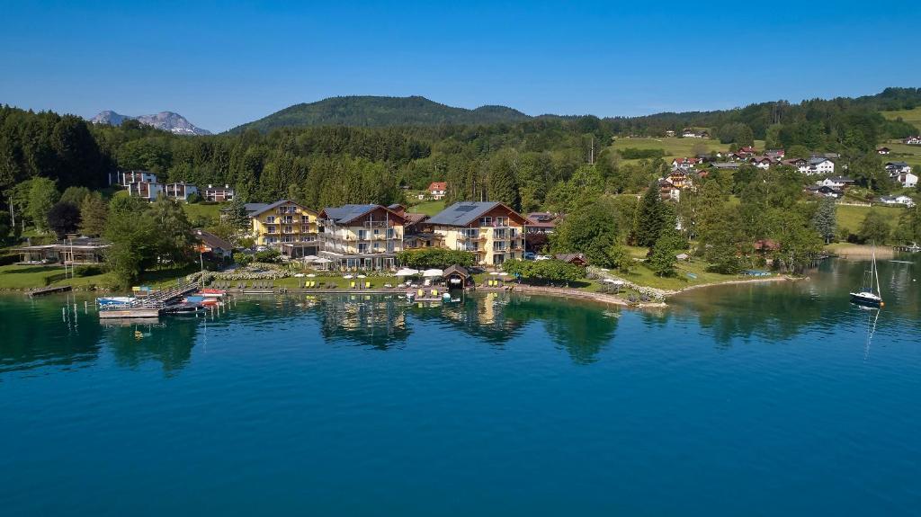 Blick auf Hotel Seegasthof Stadler aus der Vogelperspektive