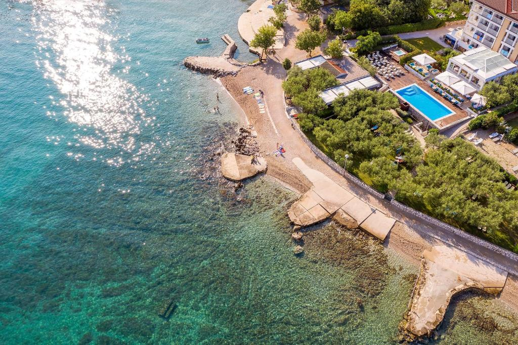 A bird's-eye view of Hotel Vila Rova