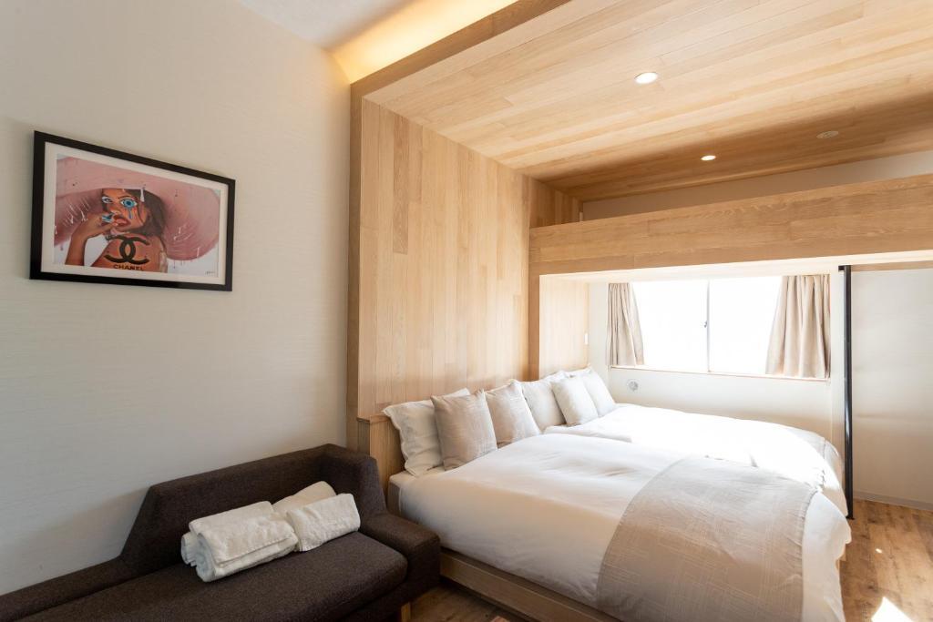 サクラクロスホテル新宿東にあるベッド