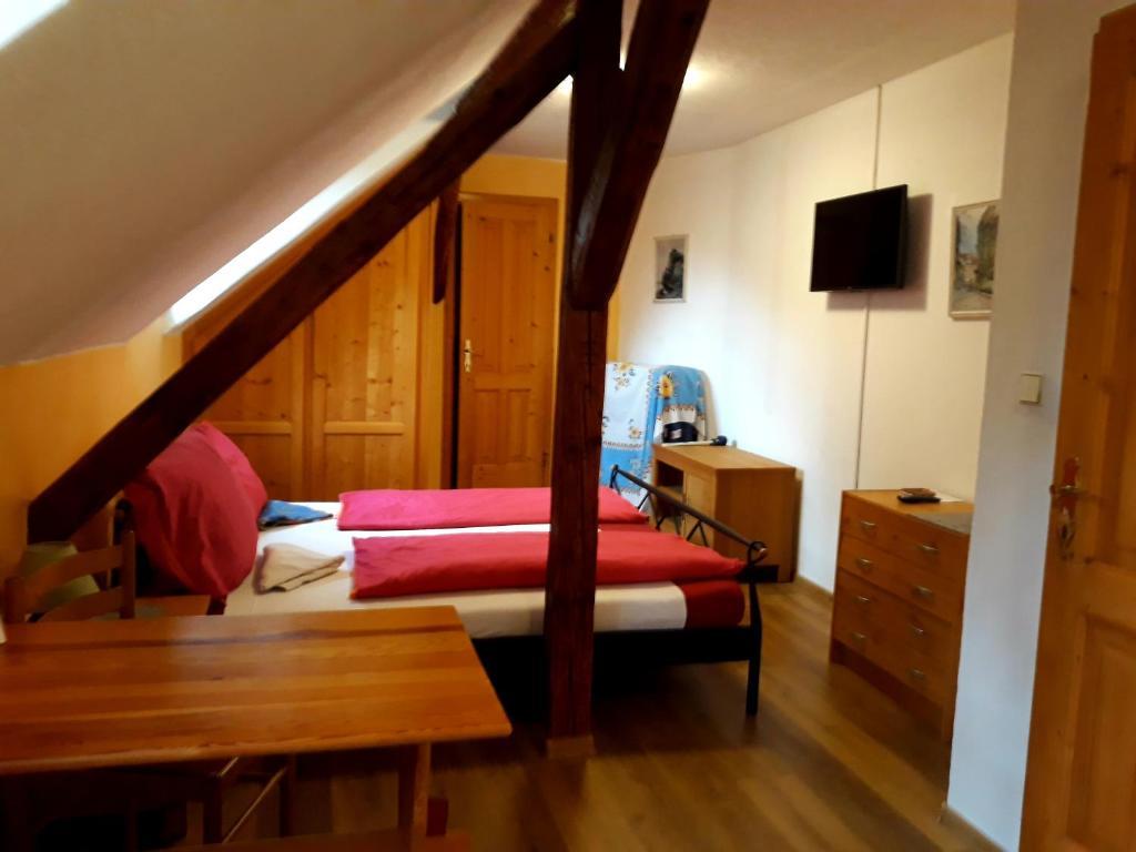 Postel nebo postele na pokoji v ubytování Bella Vita