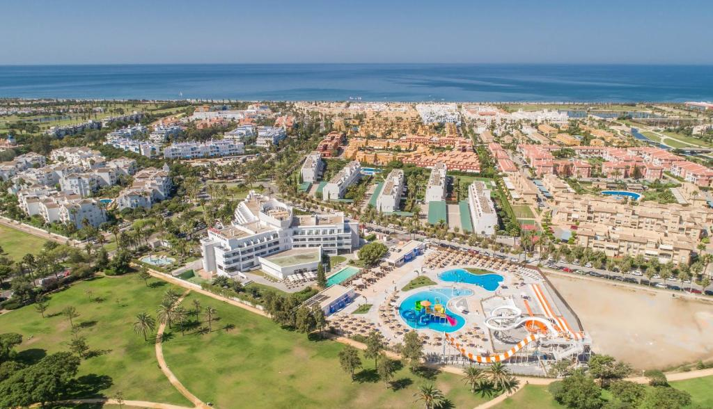 A bird's-eye view of ALEGRIA Costa Ballena AquaFun Hotel