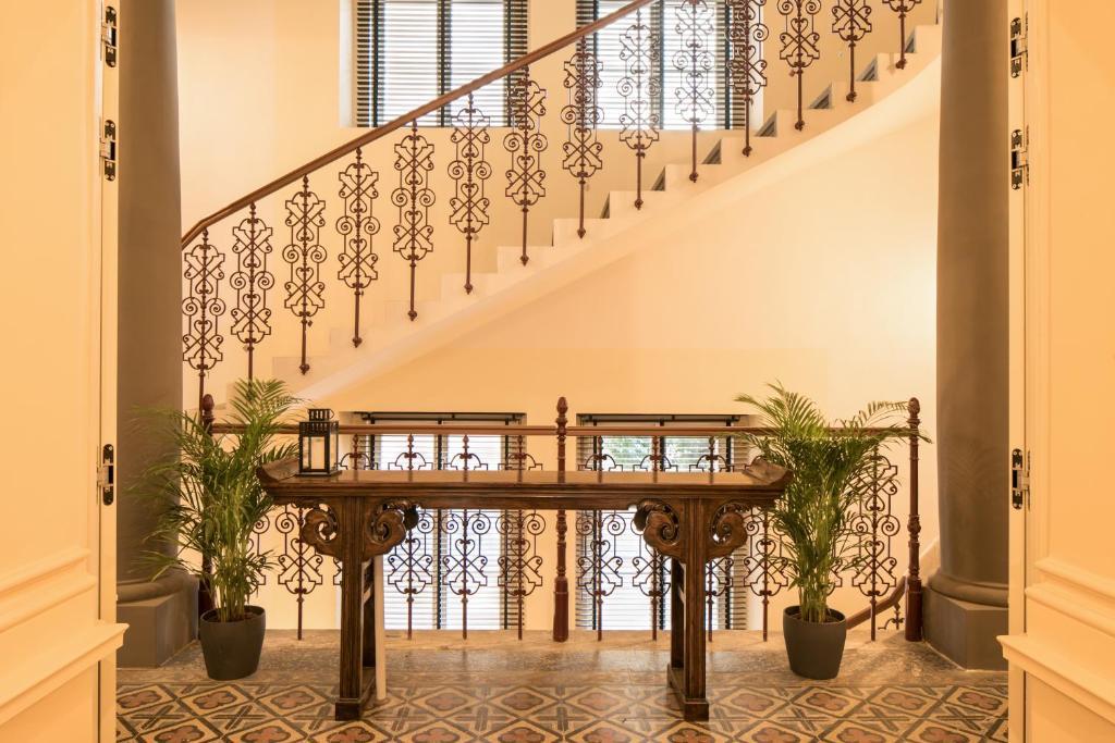 Lobby/Rezeption in der Unterkunft Quentin Prague Hotel
