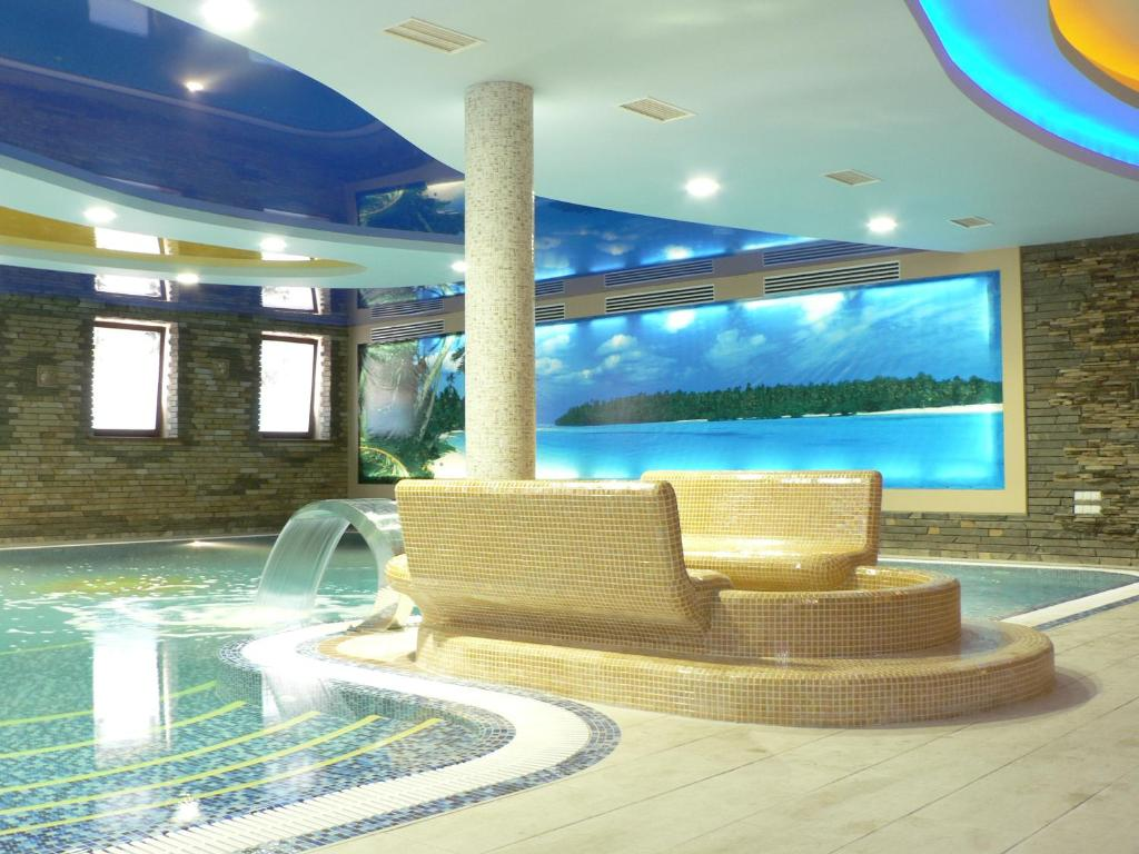 The swimming pool at or near SPA-Hotel Dodo