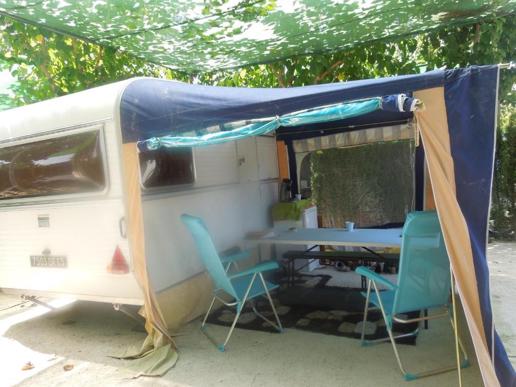 Caravane en location