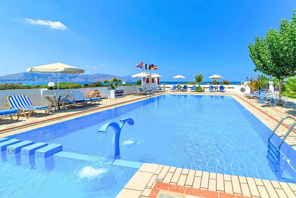 The swimming pool at or near Palladion Hotel