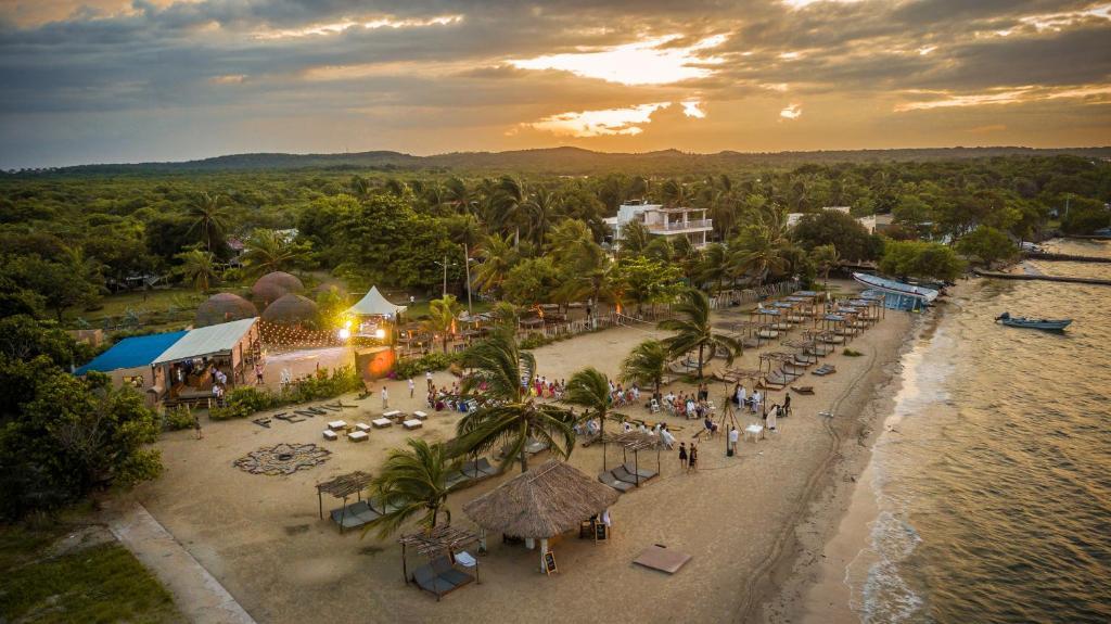 A bird's-eye view of Hotel Fenix Beach Cartagena