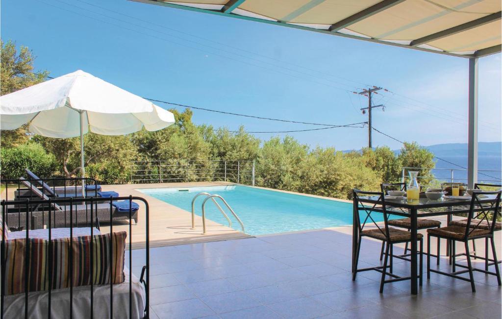 Stunning home in Perdika w/ Outdoor swimming pool, Outdoor swimming pool and 4 Bedrooms