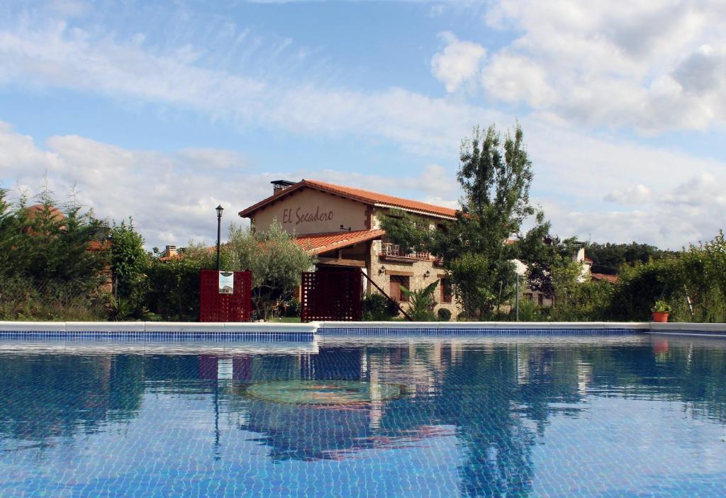 The swimming pool at or near El Secadero