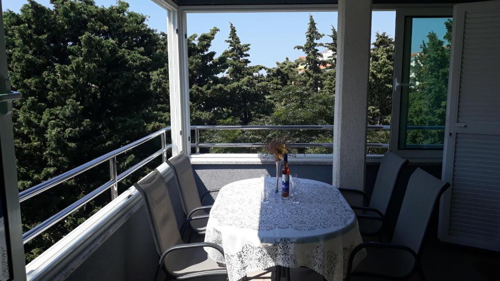 A balcony or terrace at Apartments Puky Dreams