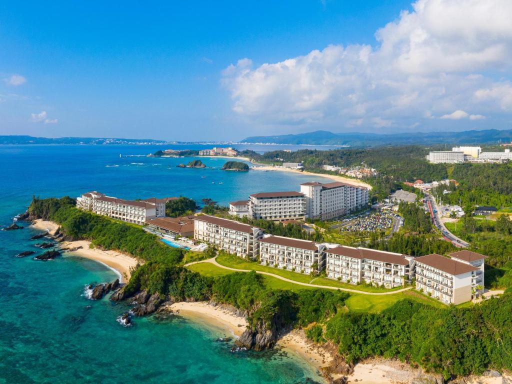 ハレクラニ沖縄の鳥瞰図