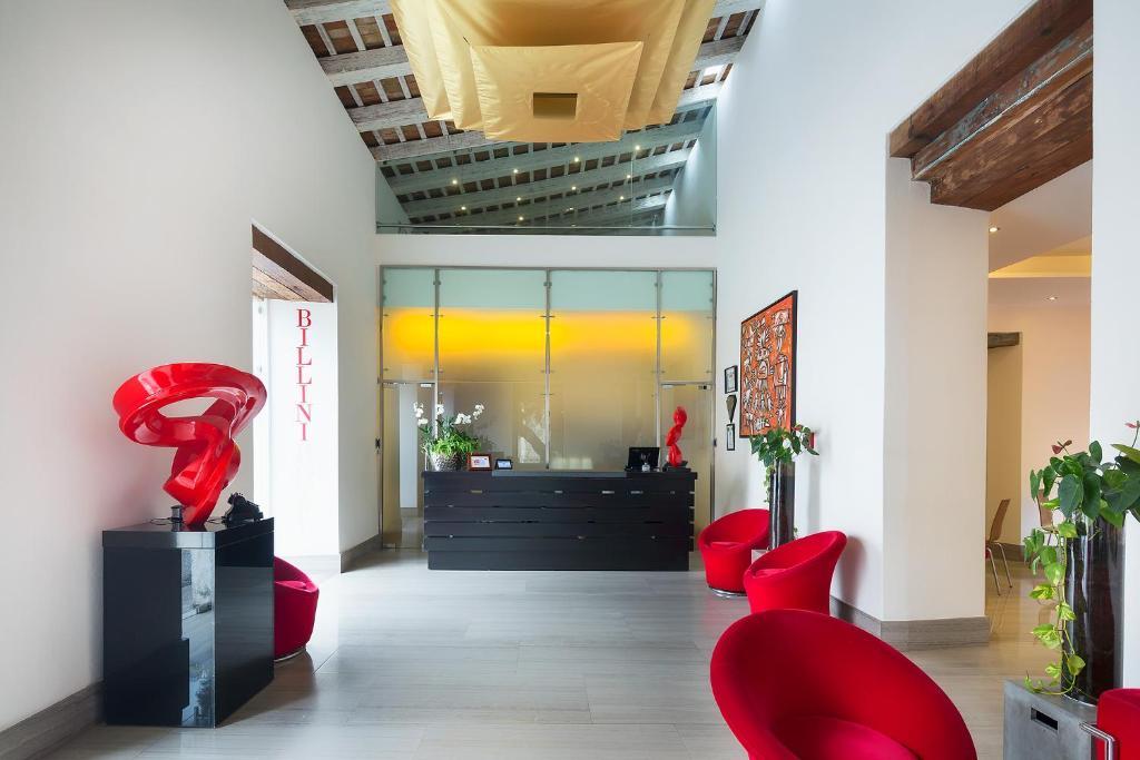 The lobby or reception area at Billini Hotel, Historic Luxury