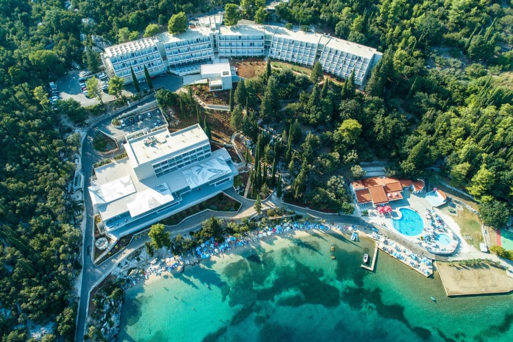 A bird's-eye view of Hotel Osmine - All Inclusive
