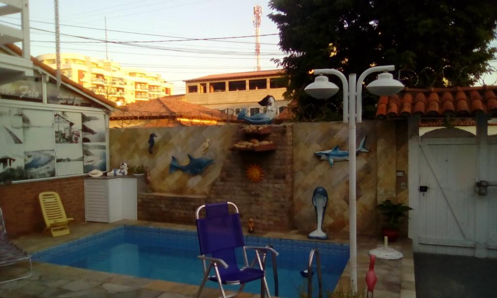 A view of the pool at Pousada do Nei or nearby